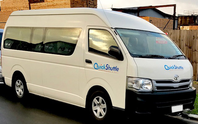 Auckland Airport Shuttle and Auckland Tours - Quick Shuttle